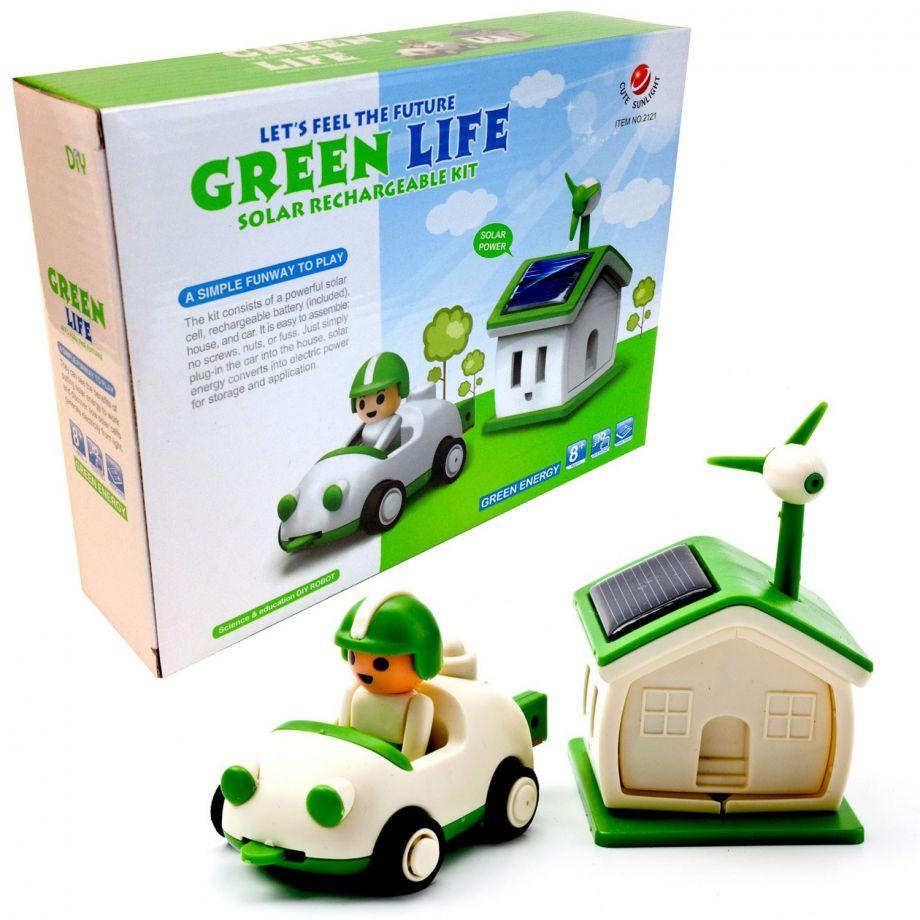 Конструктор На Солнечной Батарее Green life