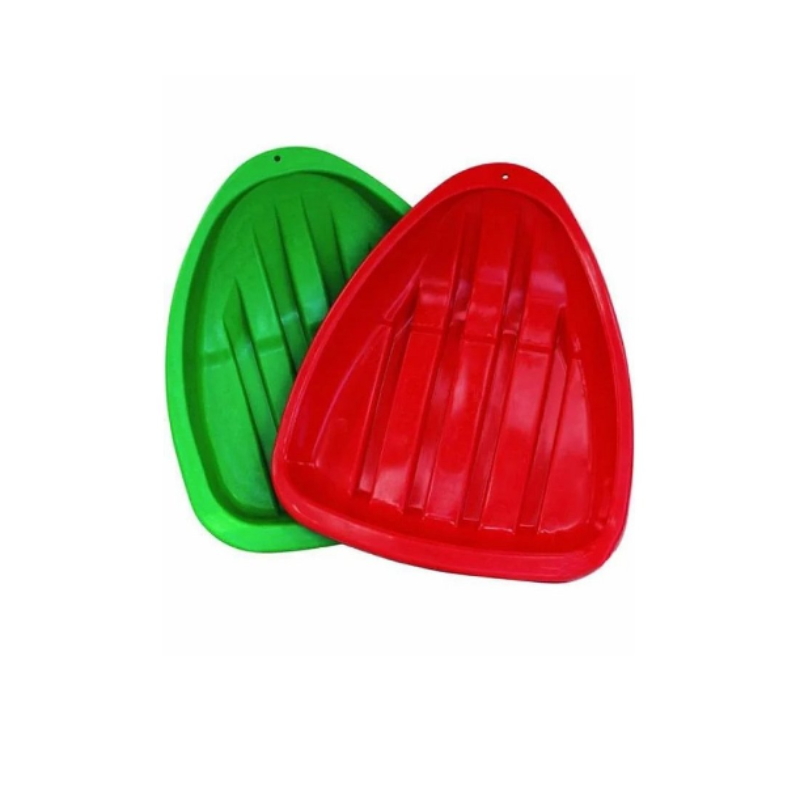 Ледянка треугольная Алмаз, 44х38см, в ассорт.красн.,зел.