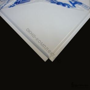 Потолочная панель алюминиевая белая Line (T-24) 600х600х0,4мм