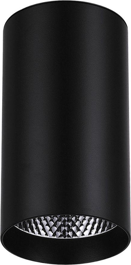 Светильник светодиодный Feron AL531 накладной 25W 4000K черный 100*100