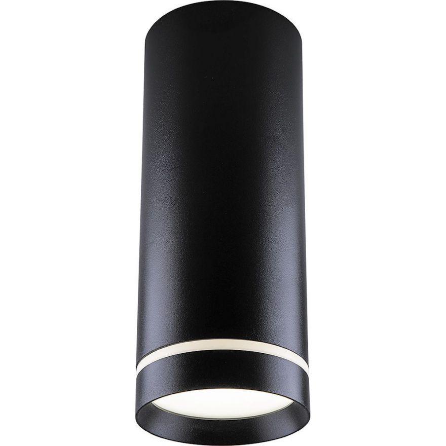 Светильник светодиодный Feron AL535 накладной 25W 4000K черный 100*200