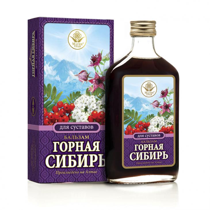 Бальзам для суставов «Горная Сибирь»