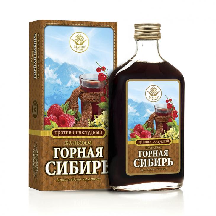 Бальзам противопростудный «Горная Сибирь»