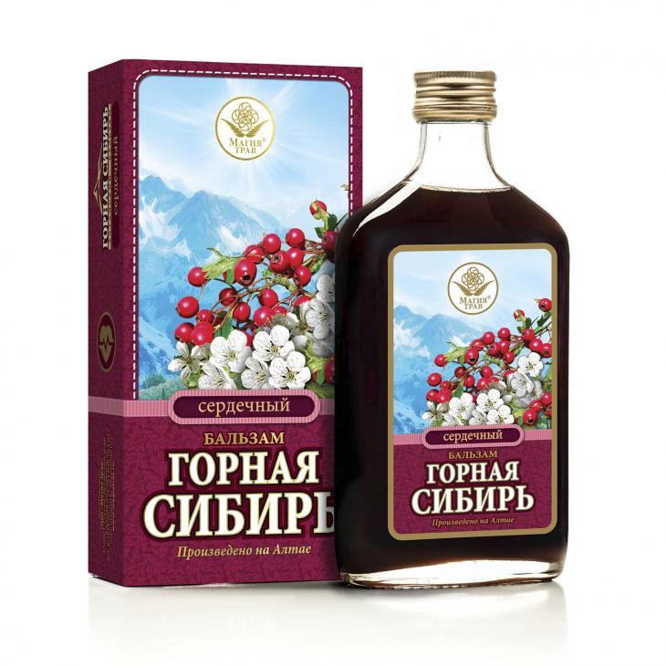Бальзам сердечный «Горная Сибирь»