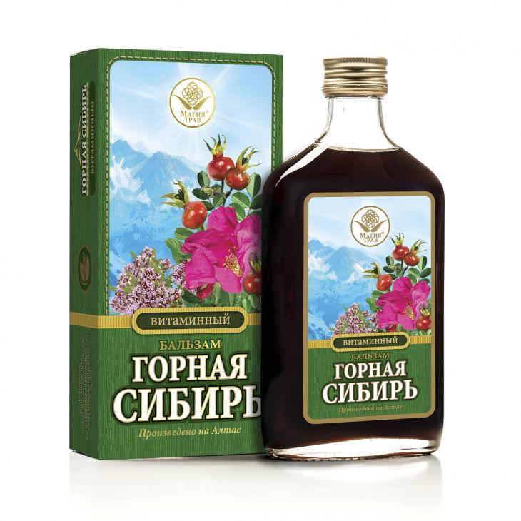 Бальзам витаминный «Горная Сибирь»