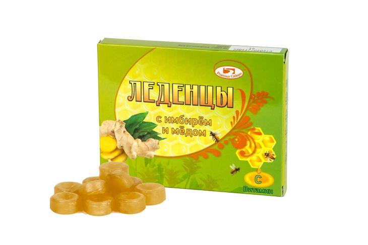Леденцы с имбирем и медом