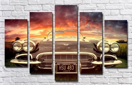 Модульная картина Авто 17