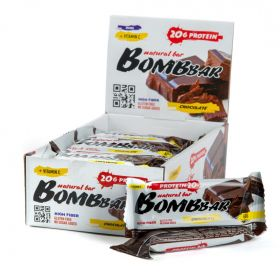 Протеиновый батончик Bombbar Шоколад 60 гр
