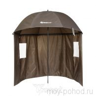Зонт карповый NISUS с тентом прямой N-240-TP