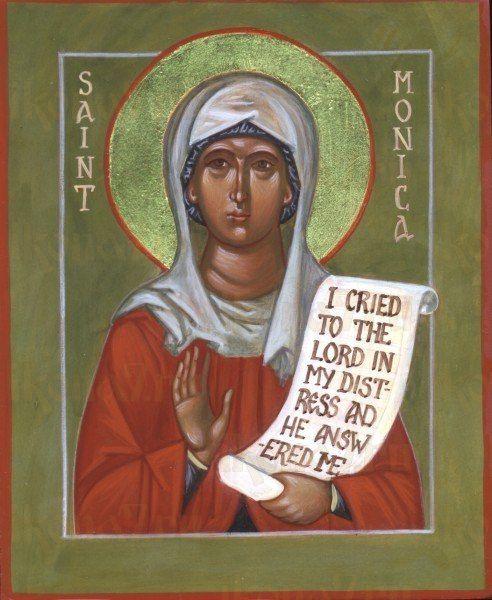 Икона Моника Тагастинская праведная