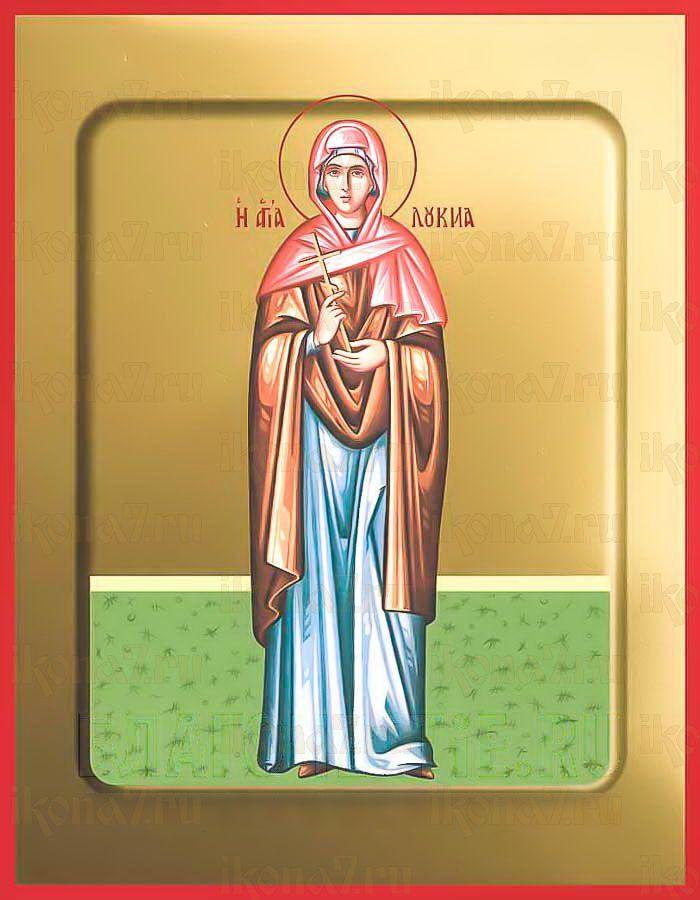 Икона Луция Сиракузская мученица