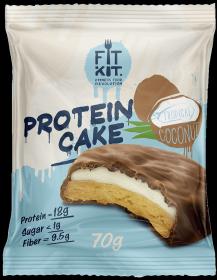 Fit Kit Protein Cake 70 гр Тропический кокос