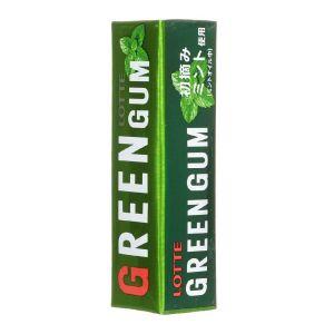 Жевательная резинка LOTTE Green Gum 31г