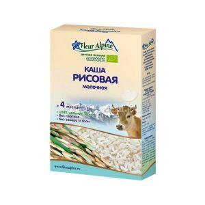 Каша Флер Альпин 200 гр Рисовая молоч. с 4мес.