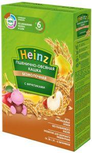 Каша Хайнц 200 гр безмол. Пшенично-овсяная с фруктиками