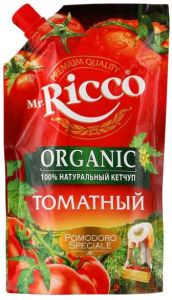 Кетчуп Mr.Ricco 960гр Томатный д/п