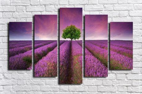 Модульная картина Пейзажи и природа 86