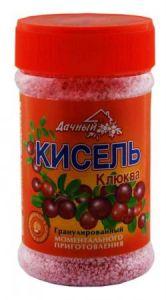 """Кисель Клюква 375гр """"Дачный"""""""