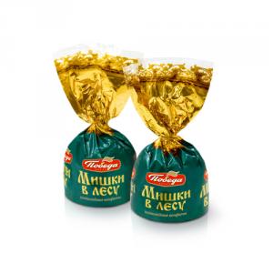 Конфеты шоколадные 115 Мишки в лесу