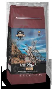 ЛАНДОР для взрослых кошек рыба с рисом (LANDOR FISH WITH RICE)