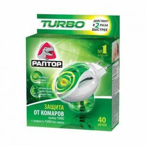 Раптор Комплект Turbo (прибор+жидкость 40 ночей)