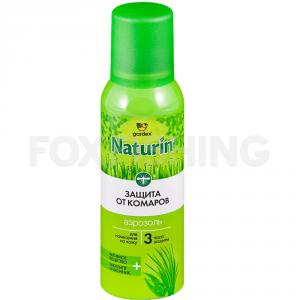 Аэрозоль-репеллент от комаров GARDEX Naturin