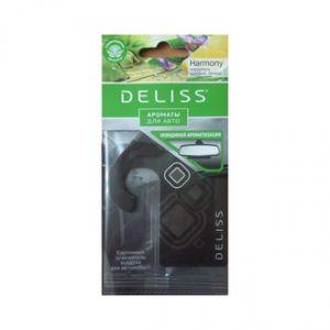 Освежитель воздуха д/автомобиля картонный DELISS Harmony