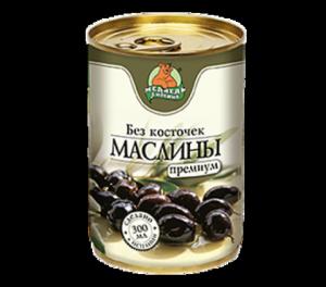 Маслины с/к 300мл Медведь Любимый ж/б