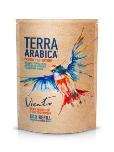 Кофе Terra Arabica Viento 75гр сублимир. с доб. молотого пакет