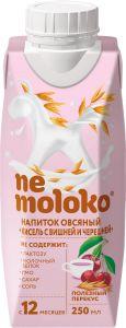 Немолоко напиток овсяный Кисель с вишней и черешней, обогащ. витам. и минеральными веществ. 0,25 мл