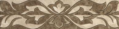 Saloni brown border 01