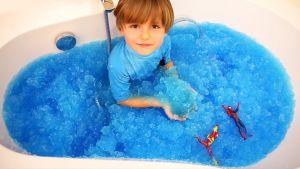 Желе и игрушки для ванны