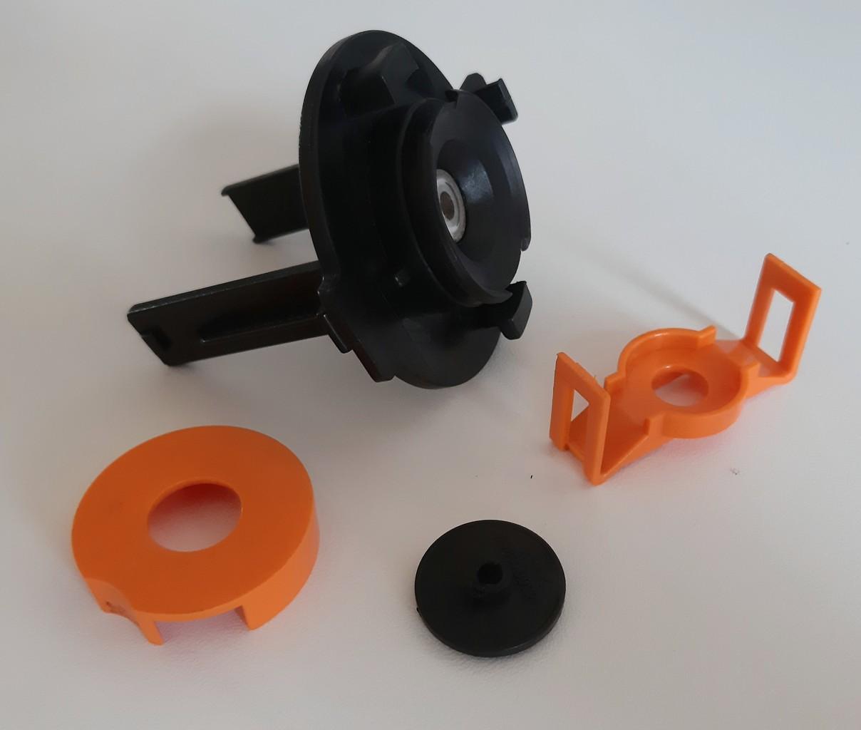 Корпус мотора миксера, 4 детали