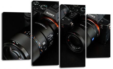 Модульная картина Фотоаппараты