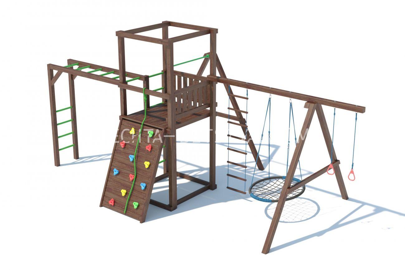 Детский игровой комплекс серия А2 модель 1