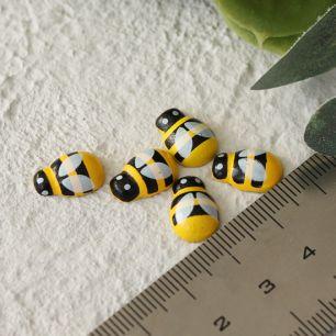 Деревянные пчёлки - Кукольная миниатюра