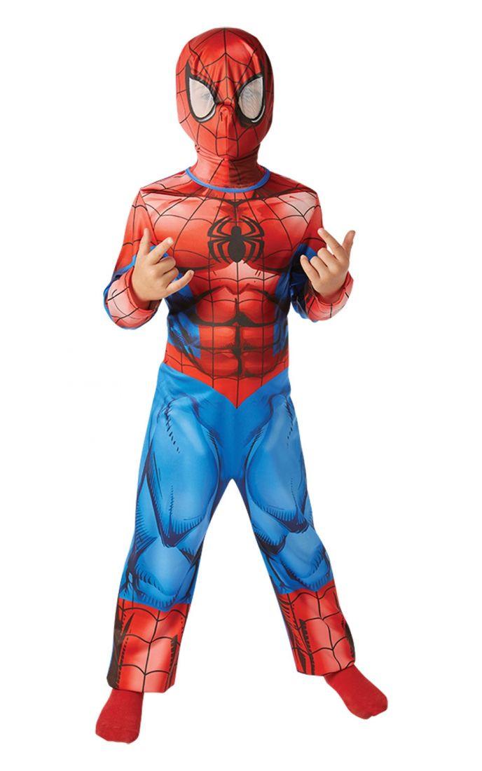 Классический костюм Спайдермена детский