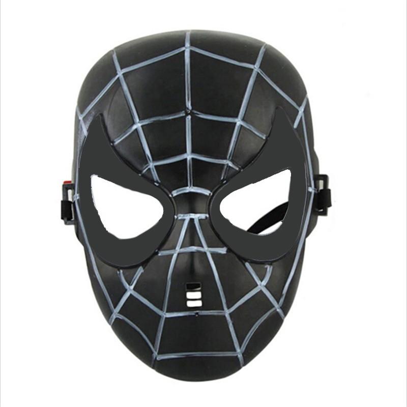 Детская маска черного Спайдермена