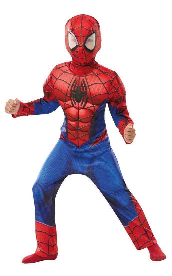 Детский костюм Спайдермена супергероя