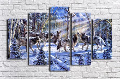 Модульная картина Животные 31