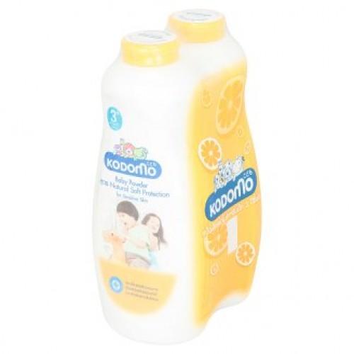 Детская присыпка Естественная защита Kodomo Natural Soft Protection Formula Baby Powder 500 гр x 2 шт