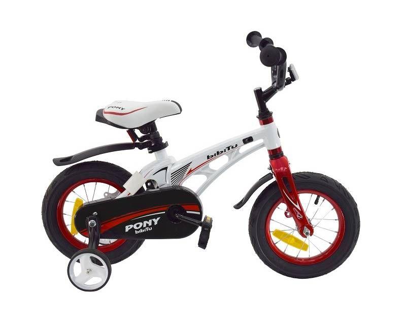 """Велосипед 12"""" BIBITU PONY, белый"""