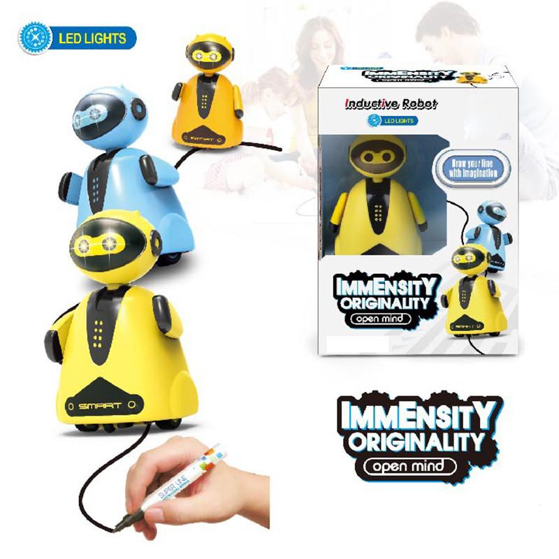 Индуктивная игрушка Робот с LED сенсором