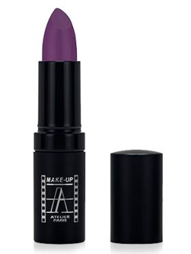 Make-Up Atelier Paris Velvet Lipstick B108V Violine Помада Велюр виолин