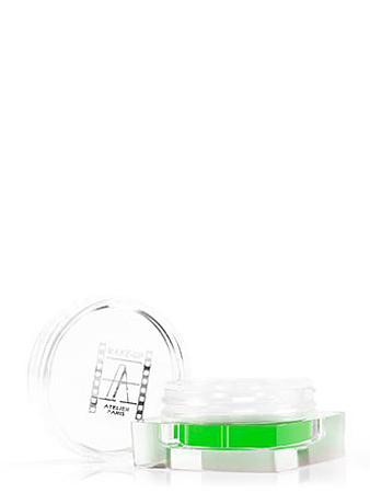 Make-up Atelier Paris Рассыпчатая флуоресцентная пудра PF7 зеленый