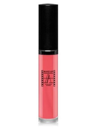 Make-Up Atelier Paris Long Lasting Lipstick RW12 Petale Блеск для губ суперстойкий лепесток розы