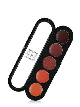 Make-Up Atelier Paris Lipsticks Palette 16 Sable or Палитра помад из 5 цветов №16 золотой песок