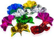 Цветы из ниоткуда - 9 шт (металлизированная бумага)