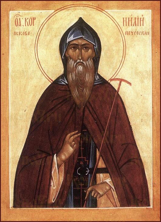 Икона Корнилий Псково-Печерский преподобномученик