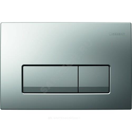 Кнопка для инсталляции Delta 51 хром мат механ Geberit 115.105.46.1